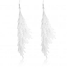 Common Reed Earrings M (Silver) - Moorigin