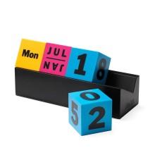 Cubes Perpetual Calendar (Multicolor) - MoMa