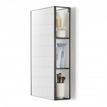 Cubiko Mirror & Storage Unit - Umbra