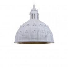 Cupolone Quarantacinque Pendant Lamp (White) - Seletti