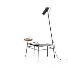 Dase Corner Coffee Table (Metal / Black) - Mogg