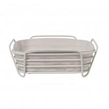 DELARA Bread Basket Large (Moonbeam) - Blomus