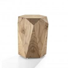 Diamond Stool & Side Table (Scented Cedar Wood) - Riva 1920