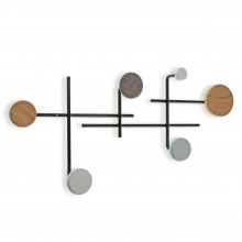 Dots Type2 Coat Hanger (Multicolor) - Versa
