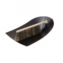 Dustpan & Broom (Black) - Normann Copenhagen