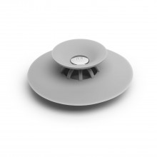 Flex Drain Plug & Hair Catcher (Grey) - Umbra