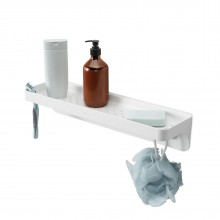 Flex Sure-Lock Bath Shelf (White) - Umbra