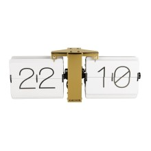 Flip Clock No Case (White) - Karlsson