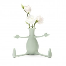 FLORINO Friendly Flower Vase (Mint) - Peleg Design