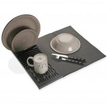 Foldable Dish Drying Mat (Grey) - Versa