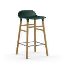 Form Barstool 65 cm Oak (Green) - Normann Copenhagen