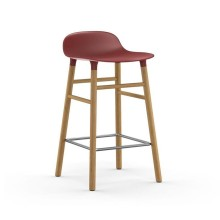 Form Barstool 65 cm Oak (Red) - Normann Copenhagen