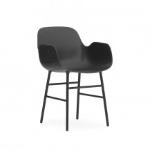 Form Armchair Steel - Normann Copenhagen