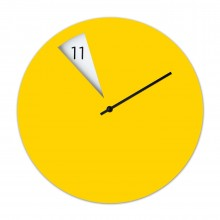 Freakish Wall Clock (Yellow) – Sabrina Fossi Design