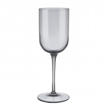 FUUM Set of 4 White Wine Glasses 280ml (Smoke Glass) - Blomus