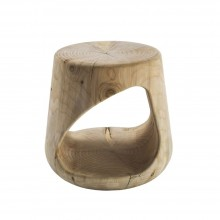 Geppo Stool & Side Table (Scented Cedar Wood) - Riva 1920