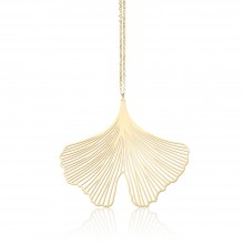 Ginkgo Pendant M (Gold) - Moorigin