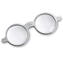 GLASSES Magnifier (Nickel) - Philippi