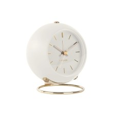 Globe Alarm Clock (White) - Karlsson