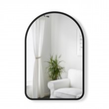Hub Arched Wall Mirror 61 x 91 cm (Black) - Umbra