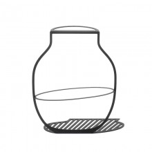 Surface Vase L Large (Black) - ilsangisang