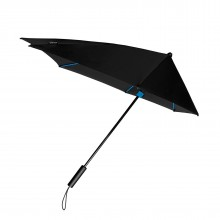 STORMaxi® Storm Umbrella Special Edition Black + Blue Frame - Impliva