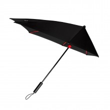 STORMaxi® Storm Umbrella Special Edition Black + Red Frame - Impliva