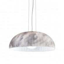Doric 60 Suspension Lamp (White Marble) - Innermost
