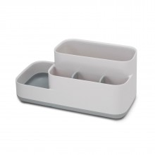 EasyStore™ Bathroom Caddy (White / Grey) - Joseph Joseph