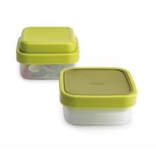 GoEat™ Salad Box Space Saving Food Container (Green) - Joseph Joseph