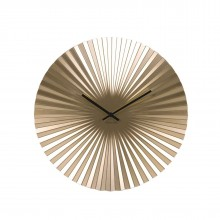 Sensu Wall Clock Steel (Gold) - Karlsson
