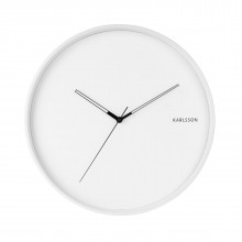 Hue Metal Wall Clock (White) - Karlsson