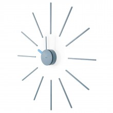 Urchin Wall Clock (Grey/Blue) - KLOX