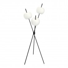 Kushi LED Floor Lamp (Black) - Kundalini