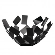 """La Stanza dello Scirocco"" Fruit Holder (Black) - Alessi"