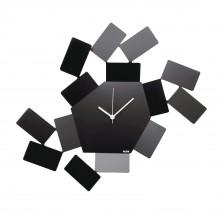 """""""La Stanza dello Scirocco"""" Wall Clock (Black) - Alessi"""