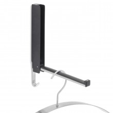 LANCA Flip-down Wall Hook (Black) - Blomus