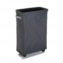 Laundry Basket with Wheels (Charcoal) - Versa