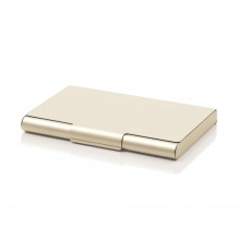 Card Box 20 Business Card Case (Gold) - LEXON