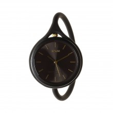 Take Time 3 in 1 Wrist Watch (Black) - LEXON