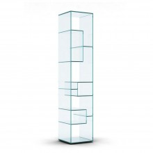 Liber B Glass Display Unit - Tonelli Design