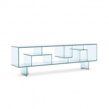 Liber M Glass Sideboard / Display Unit - Tonelli Design