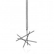 Line Pendant S (Black) - Moorigin