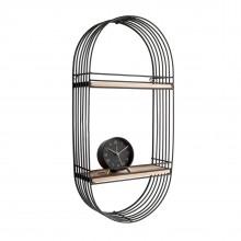 Linea Oval Wall Rack - Present Time