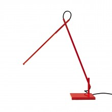 Linelight LED Desk Lamp (Red) - Shibui