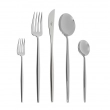 Moon 5-Piece Cutlery Set Polished - Cutipol