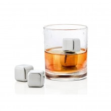 LOUNGE Ice Cube Set (4 pc) with Storage Bag - Blomus