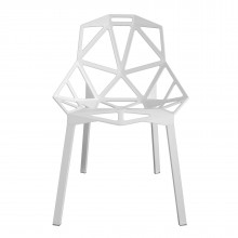 Chair One Stackable Chair (White / White) - Magis
