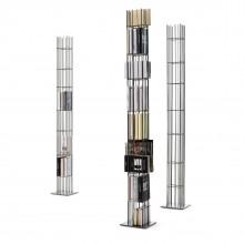 Metrica Tower Bookcase (Metal) - Mogg