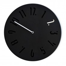 Mi Wall Clock (Black / White) - Sabrina Fossi Design